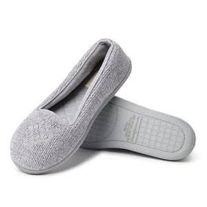 Dearfoams Womens Chenille Closed Slipper