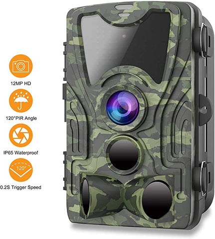 FHDCAM Wildlife Activated Waterproof Surveillance