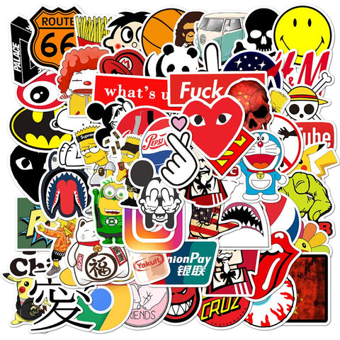 Fashion Brand Stickers Laptop Skateboard