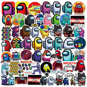 Stickers Skateboard Bottles Suitcase Fridges