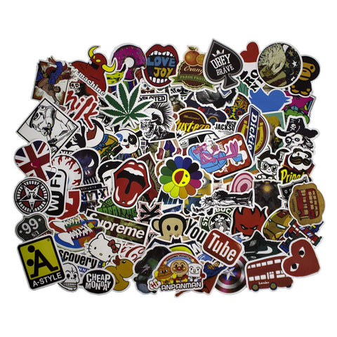 Sticker Skateboard Luggage Bicycle Stickers