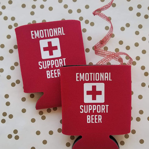 Emotional Support Coolie holder cooler