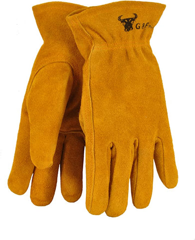 JustForKids Genuine Leather Gloves Garden