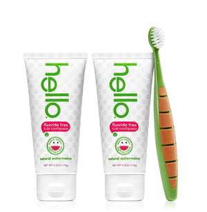 Hello Oral Care Toothpaste Toothbrush