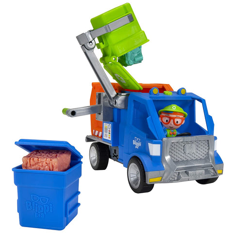 Image of Blippi Recycling Truck Catchphrases Educational