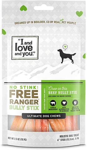 Stink Ranger Bully Treats Sticks