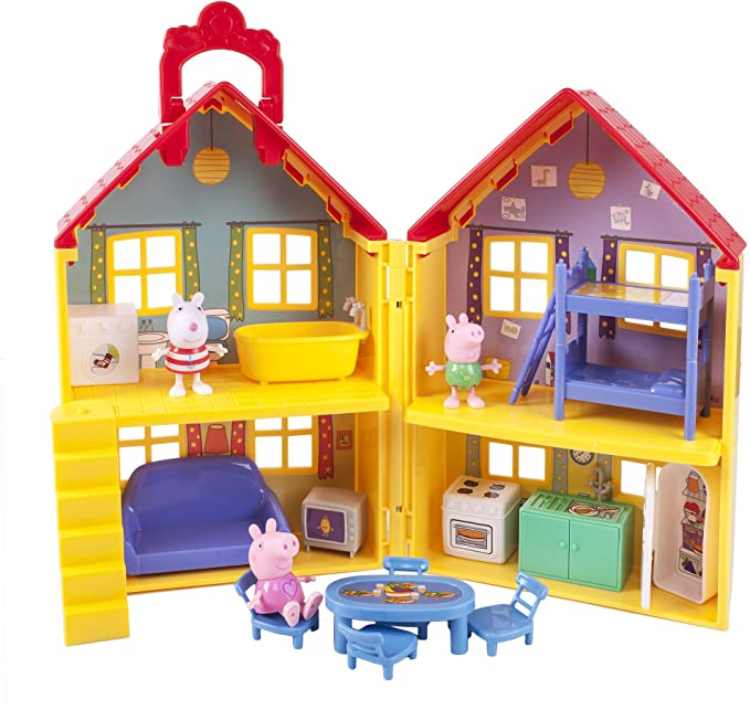 Peppa Pigs Deluxe House Playset