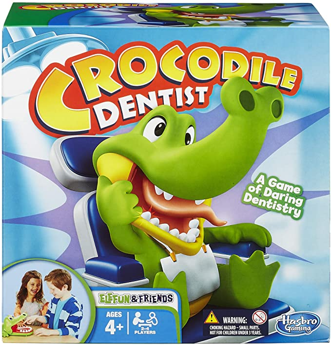 Crocodile Dentist Kids Game Ages