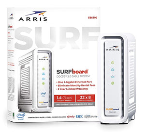ARRIS SURFboard SB6190 DOCSIS Cable