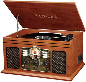 Victrola Nostalgic Bluetooth Turntable Entertainment