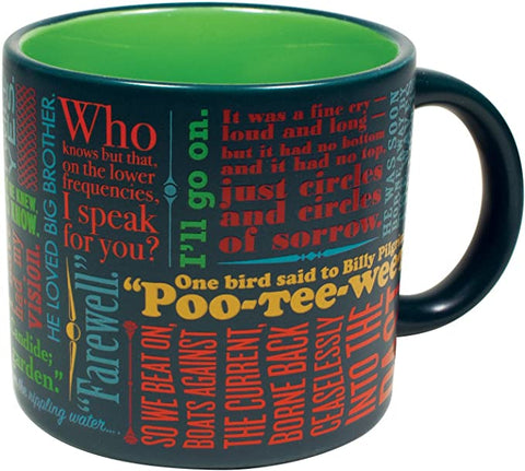 Last Lines Literature Coffee Mug