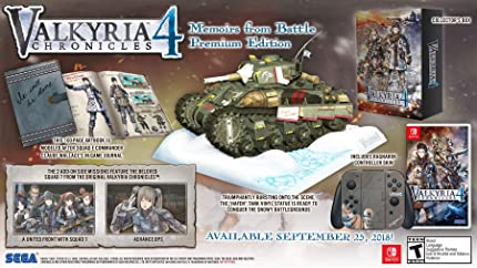 Valkyria Chronicles Memoirs Battle Nintendo Switch
