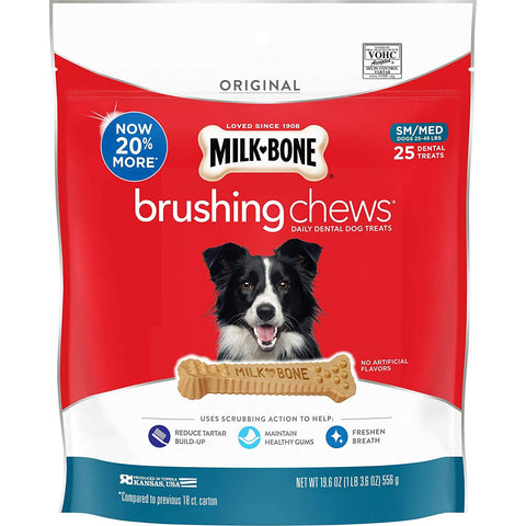 Milk Bone Brushing Dental Treats Small Medium