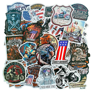 Motorcycle Sticker Davidson Stickers Waterproof