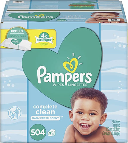 Pampers Wipes Complete Scented Refill