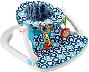 Fisher Price Sit Me Up Floor Seat Blue
