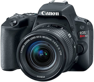 Canon Rebel DSLR Camera 18 55mm
