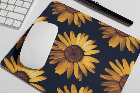 Sunflowers Mousepad Accessories Supplies Coworker