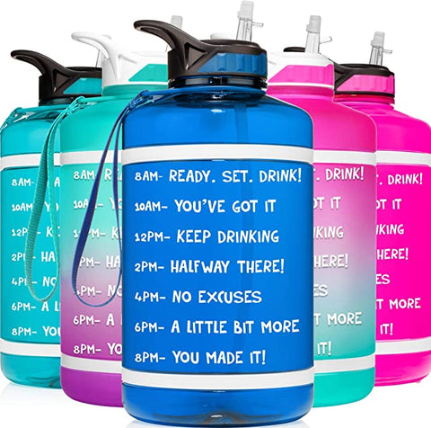 HydroMATE Motivational Reusable Workout Fitness