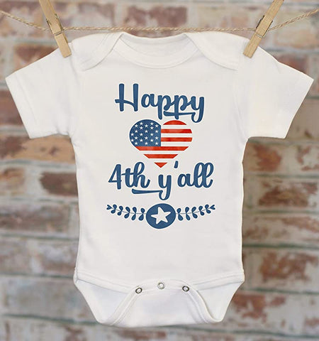 Onesie Patriotic Clothes Merica Military