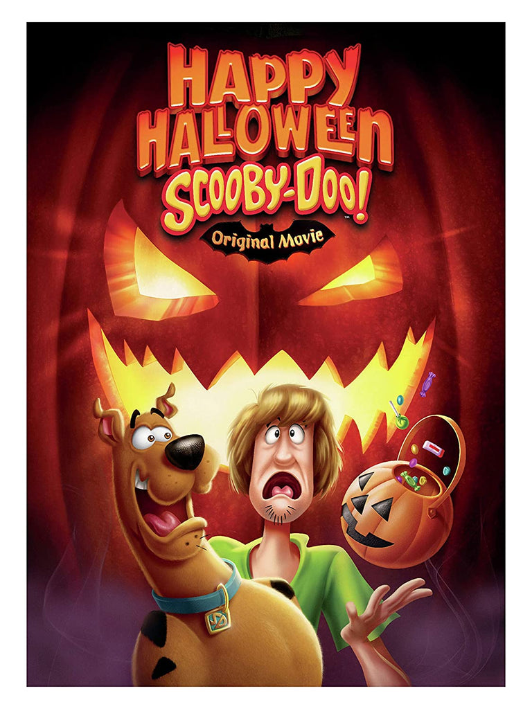 Happy Halloween Scooby Doo DVD Register