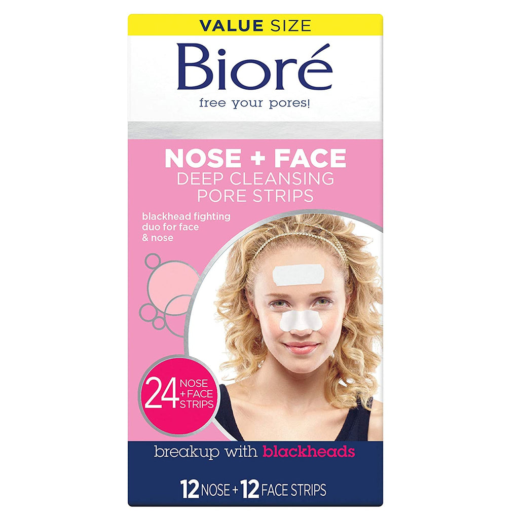 Biore Cleansing Strips Combo Count