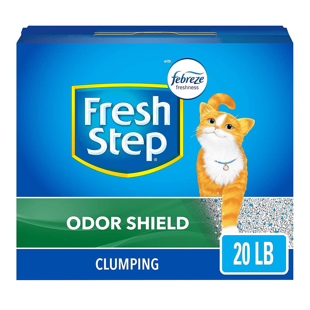 Fresh Step Scented Febreze Clumping