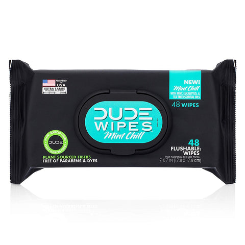 Dude Flushable Dispenser 48Count Vitamin