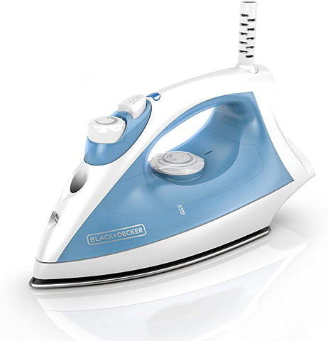 BLACK DECKER Steam Iron Pivoting