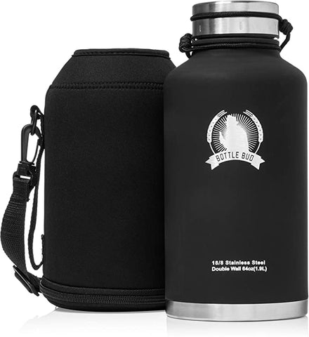 Growler Bottle Bud Sweatproof Thirst Quenching