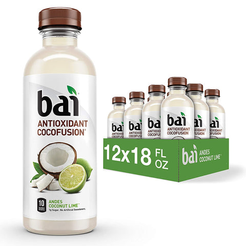 Coconut Flavored Antioxidant Infused Bottles