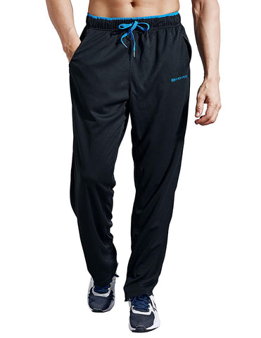 Image of ZENGVEE Sweatpants Athletic Training BlackBlue01