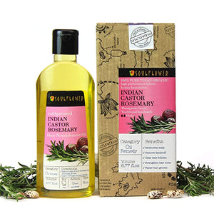 Soulflower Pressed Rosemary Nourishment Natural