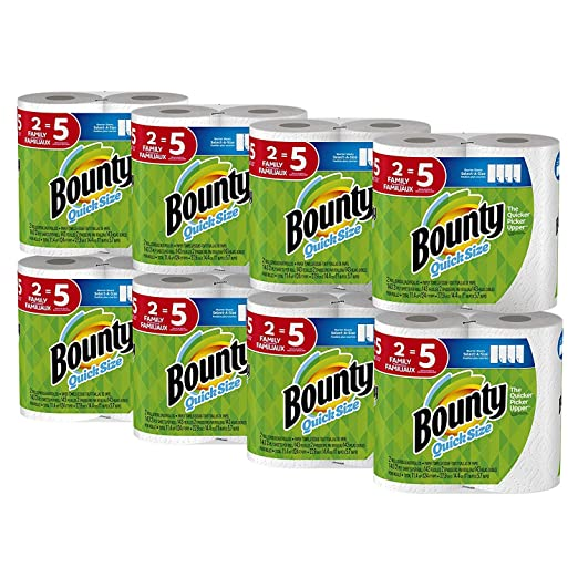 Bounty Quick Size Paper Towels Family
