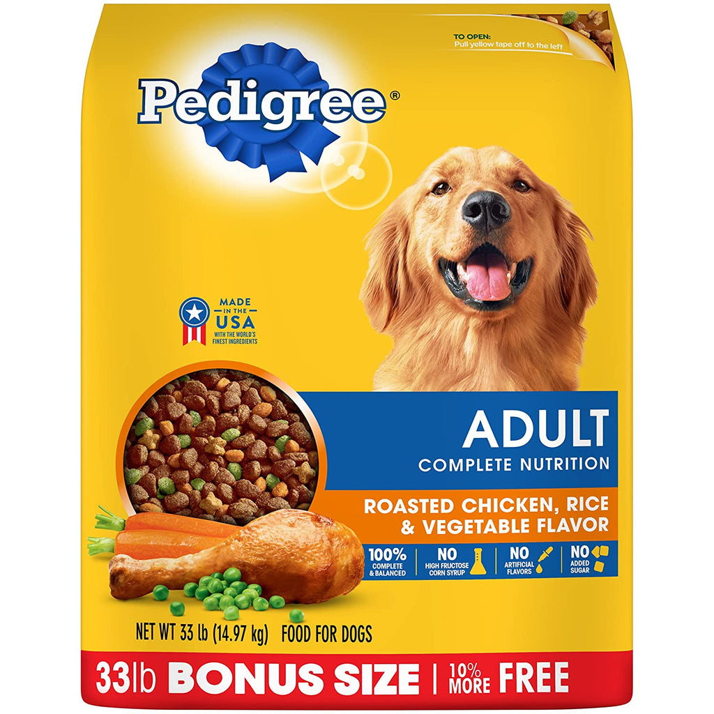 Pedigree Complete Nutrition Roasted Vegetable