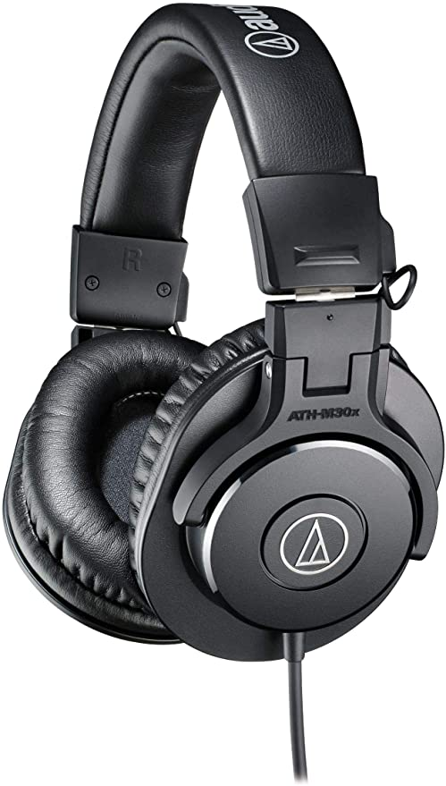 Audio Technica ATH M30x Professional Monitor Headphones