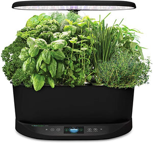 AeroGarden Bounty Black Alexa Enabled