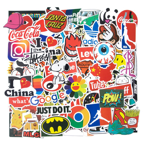 Fashion Stickers Skateboard Waterproof Computer