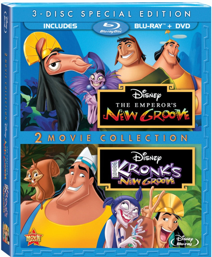 Emperors Groove Three Disc Special Blu ray