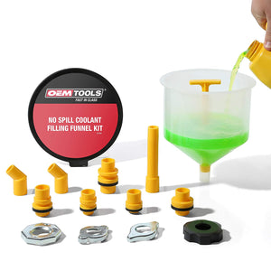 OEMTOOLS 87009 No Spill Coolant Filling