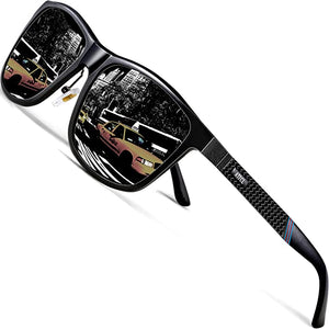 ATTCL Driving Polarized Sunglasses Al Mg