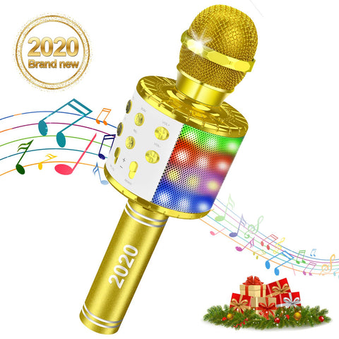 Wireless Bluetooth Microphone Portable Compatible