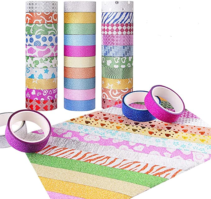 Candygirl Washi Tape Rolls Re positional