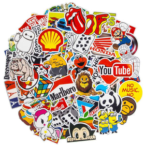 Stickers Waterproof Skateboard Motorcycle Graffiti