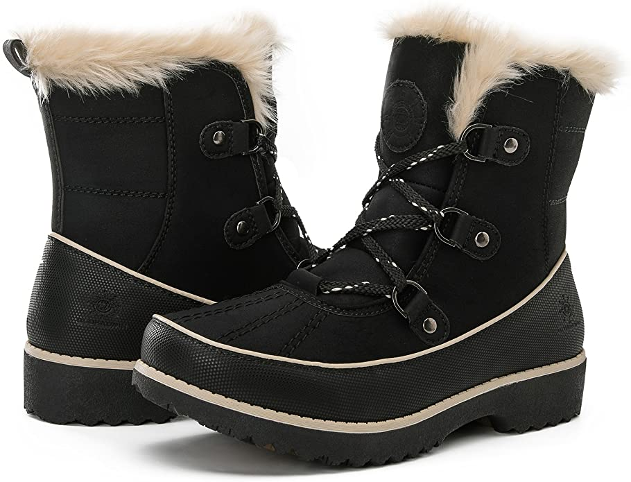 Global Win Womens Winter Boots