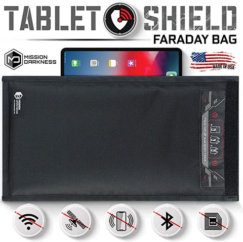 Mission Darkness Non Window Faraday Tablets