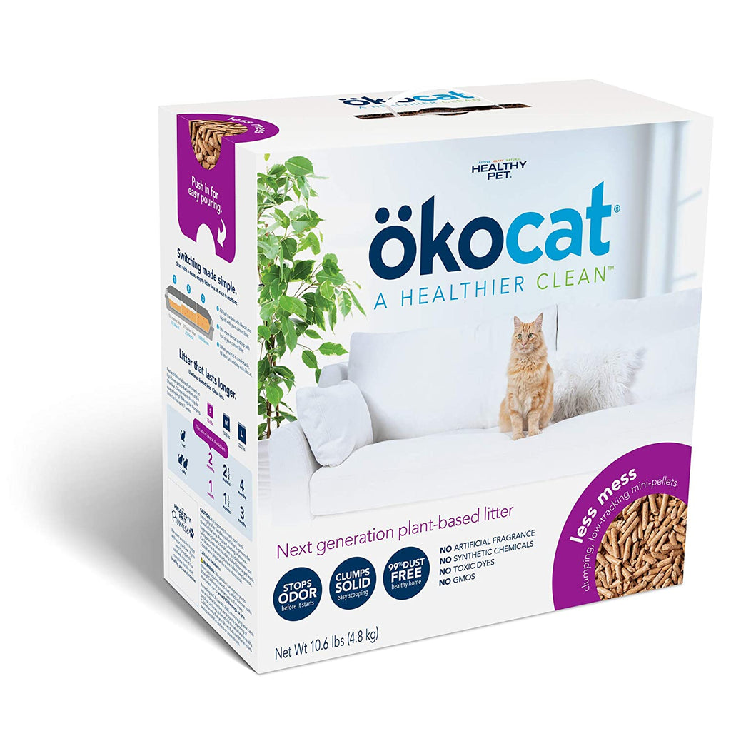 ÖKOCAT Low Tracking Clumping Mini pellets Natural