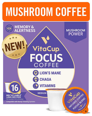 VitaCup Metabolism Recyclable Compatible Single Serve