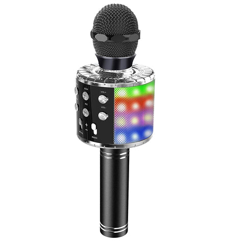 Portable Wireless Bluetooth Microphone Controllable