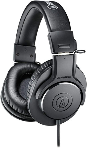 Audio Technica ATH M20x Professional Monitor Headphones